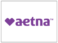 Aetna purple logo